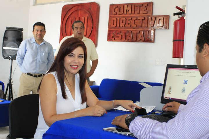 Aurora Aguilar invita refrendar compromiso con el PAN en Tlaxcala