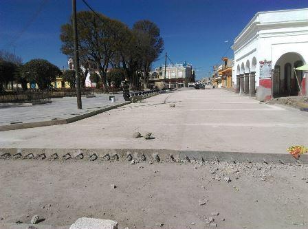 Avanza 92 por ciento obras públicas en Ixtenco