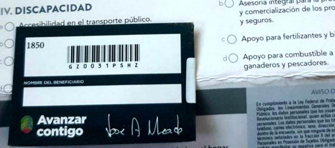 Los puercos del PRI nos quieren comprar con una tarjeta: Pobladores