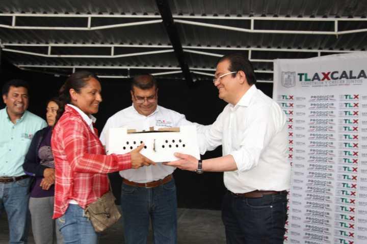 Ayuntamiento realiza la 4ta entrega de aves de traspatio