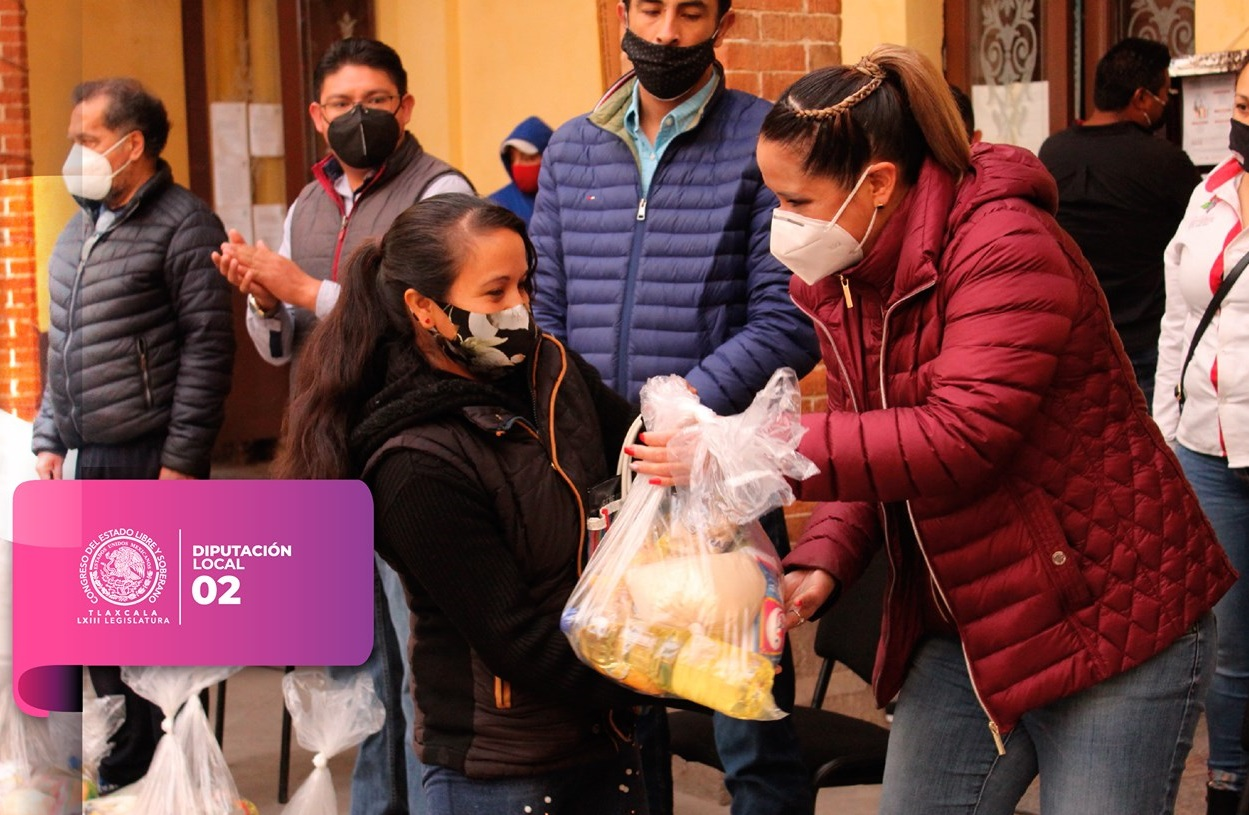 Tlaxco reconoce la gestión y buen desempeño de la diputada Michaelle Brito