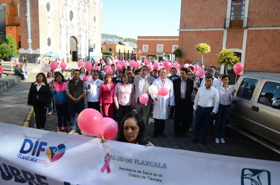 Ratifica gobierno capitalino campaña preventiva contra el cáncer de mama