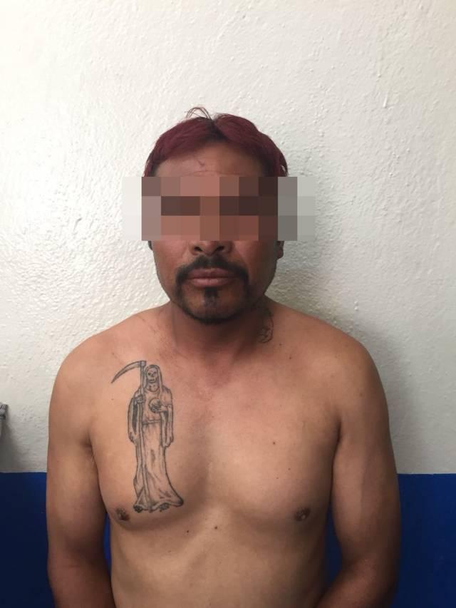 Detienen a sujeto por posesión de drogas en Chiautempan
