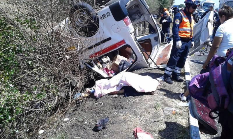 Fuerte accidente dejaría 6 muertos y varios heridos