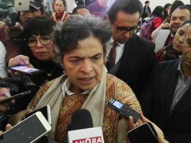 Dice Beatriz Paredes que impulsará iniciativas para combatir la trata