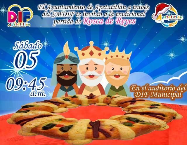 En Apetatitlán llegarán los Reyes Magos
