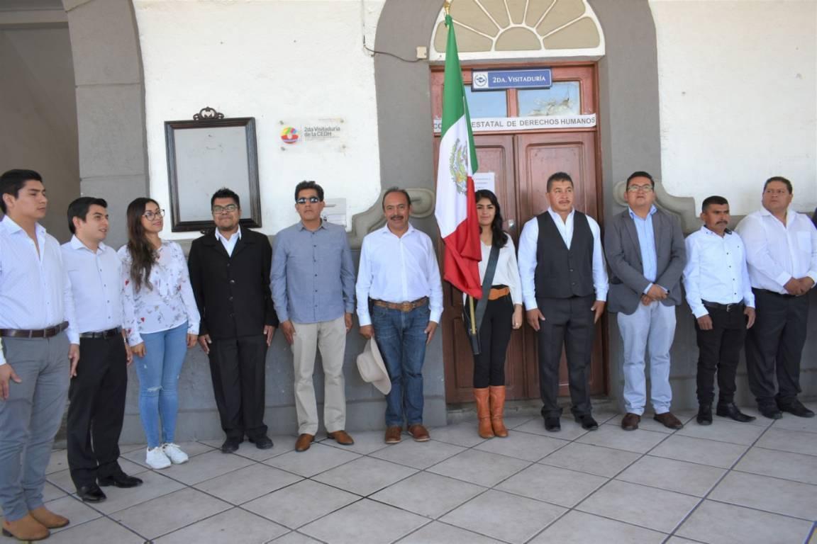 Con la fijación del Bando Solemne iniciamos las festividades patrias: alcalde
