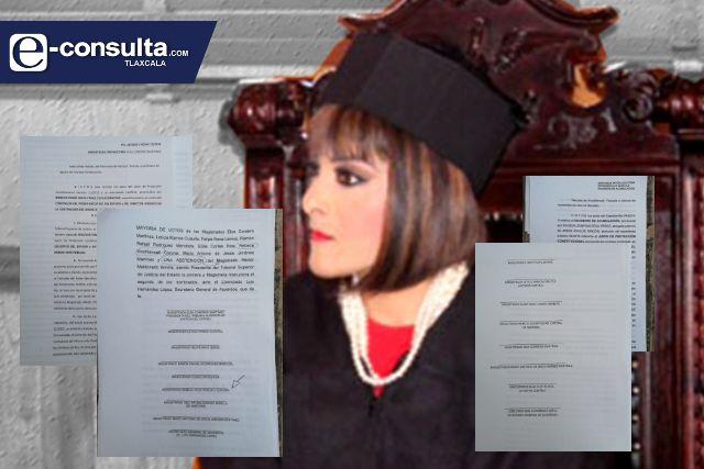 Incurrió Rebeca Xicohténcatl en falta grave como magistrada
