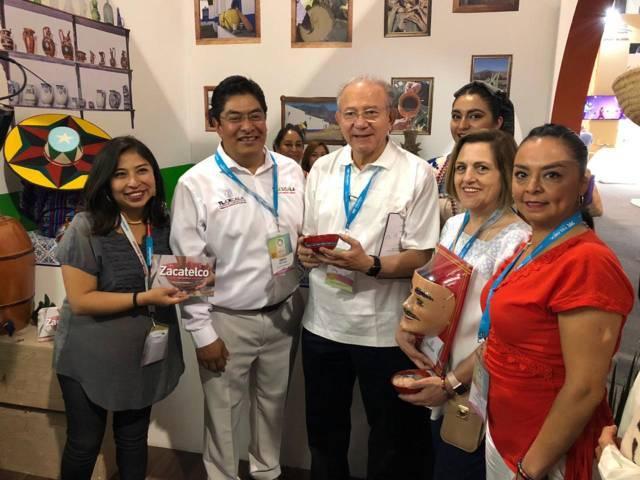Disfruta todo México, de la Gastronomía de Zacatelco en el Tianguis Turístico 2019