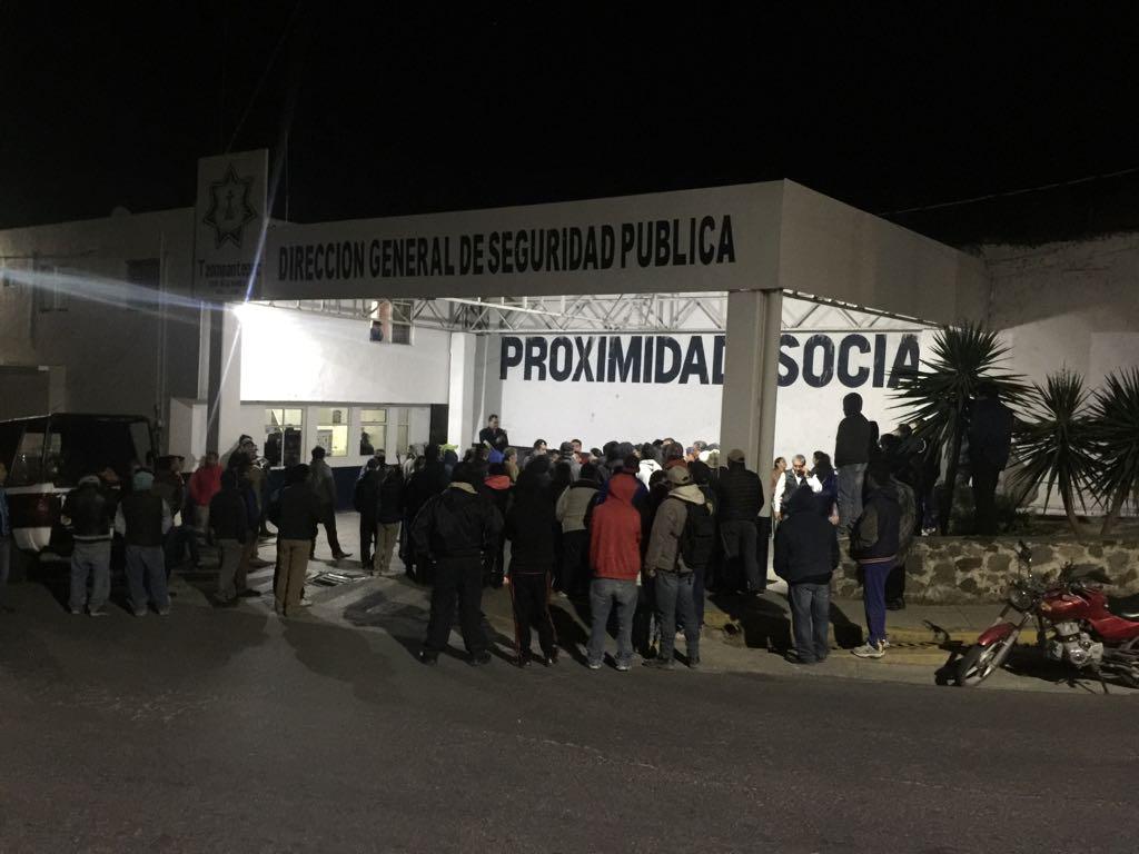 Síndico de Tzompantepec presentó denuncia por disturbios en comandancia