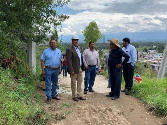 A 30 años la calle Cuauhtémoc de Xochitecatitla contara con drenaje: alcalde