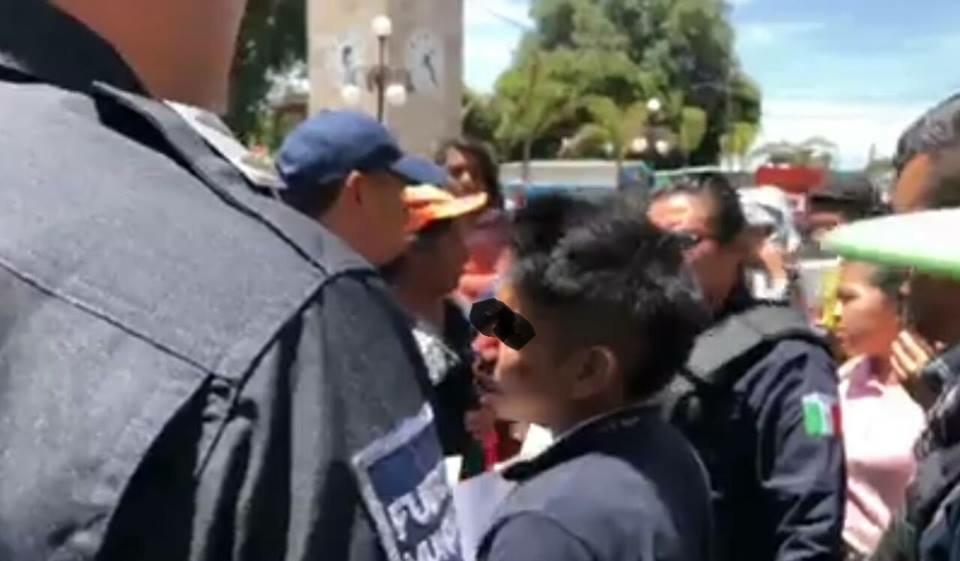 Pretenden linchar a presunto ladrón en Xiloxoxtla