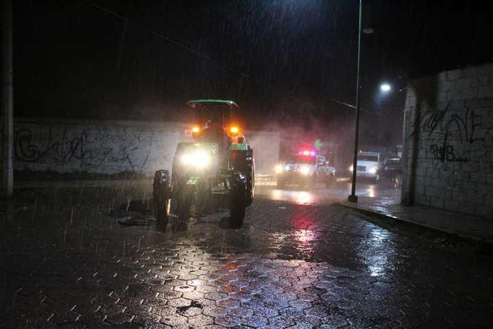 Jornada de sanitización llega a San Pablo del Monte por segunda ocasión