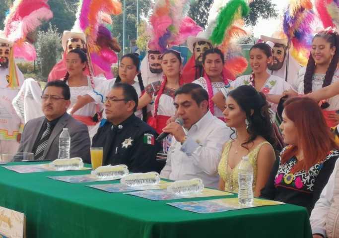 Esperan 20 mil visitantes durante el carnaval de Totolac 2020