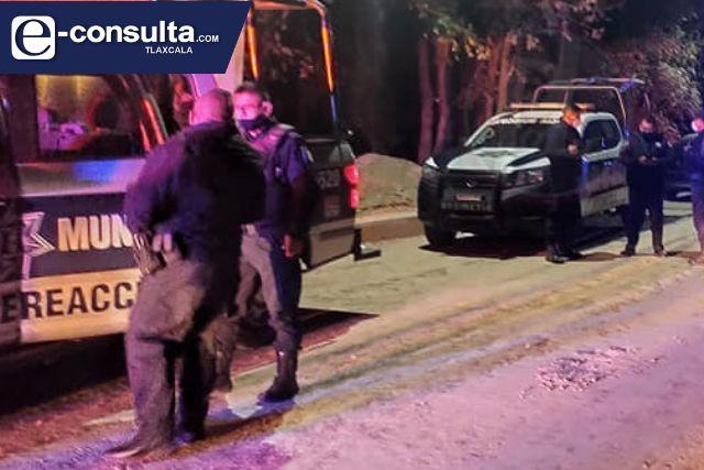 Sujetos no identificados reciben a balazos a policías en Acuamanala