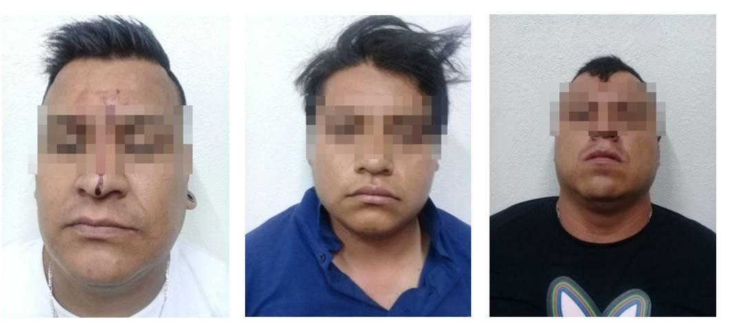 Banda dedicada al robo de llantas y autopartes es detenida en Chiautempan