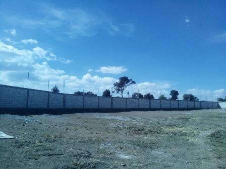 Alcalde de Huamantla mejora el EMSAD 28 con barda perimetral