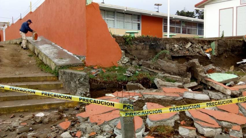 Las lluvias de este lunes dejaron solo daños materiales: PC municipal