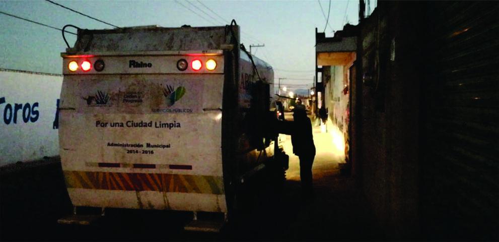 A marchas forzadas inicia actividades Dirección de servicios municipales