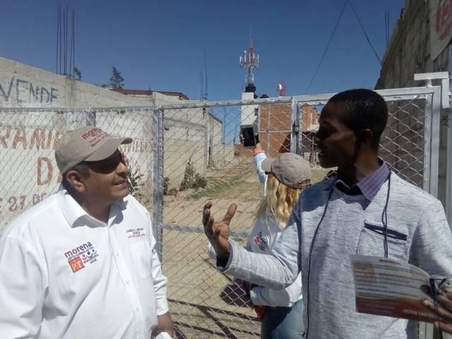 Coalición de Morena, mejor proyecto para Distrito local III de Tlaxcala: extranjeros