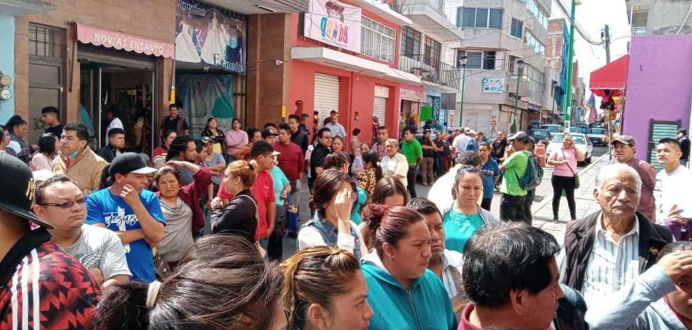 Comerciantes de Chiautempan se sujetarán a las medidas por el Covid 19