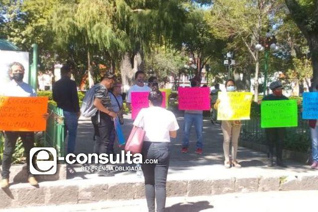 Piden intervención del gobierno por contaminación en Papalotla