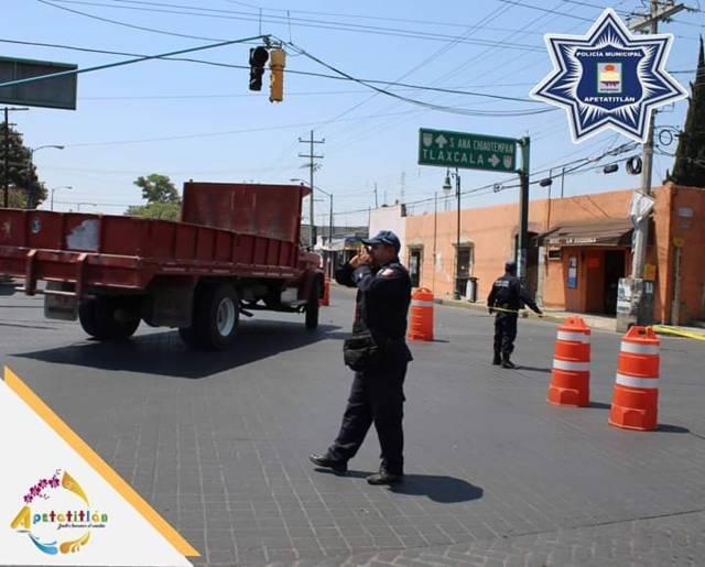 "En marcha operativo ""Semana Santa Apetatitlan 2019"""