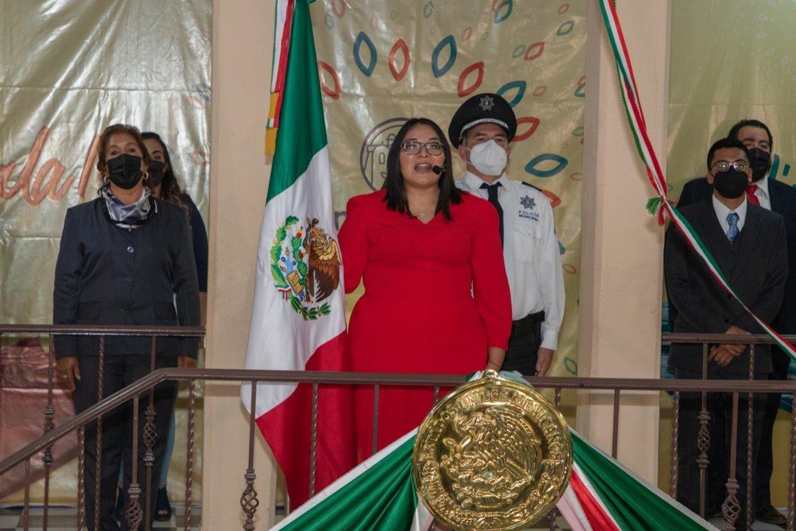 En Benito Juárez llevamos el grito a cada hogar del municipio: Laura Flores
