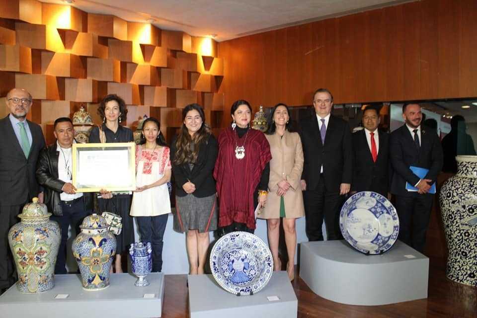 Cutberto Cano celebra la certificación de la Talavera por la UNESCO