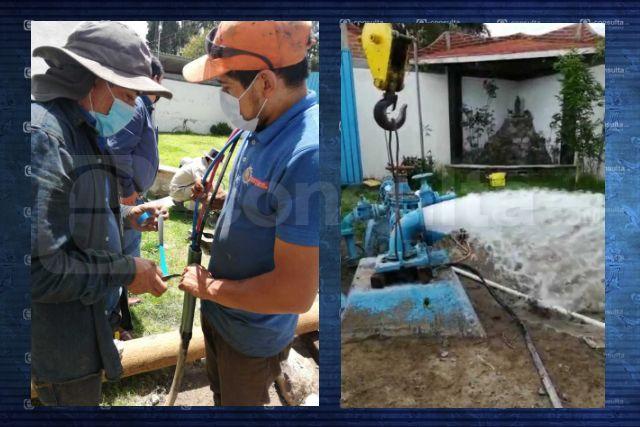 Comisión de Agua de Huamantla informa que el servicio se ha restablecido