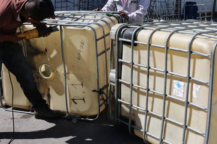 PGR Tlaxcala destruye 110 objetos del delito