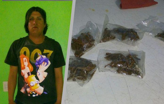 Presunto narcomenudista es detenido por Policías Municipales de Ixtacuixtla