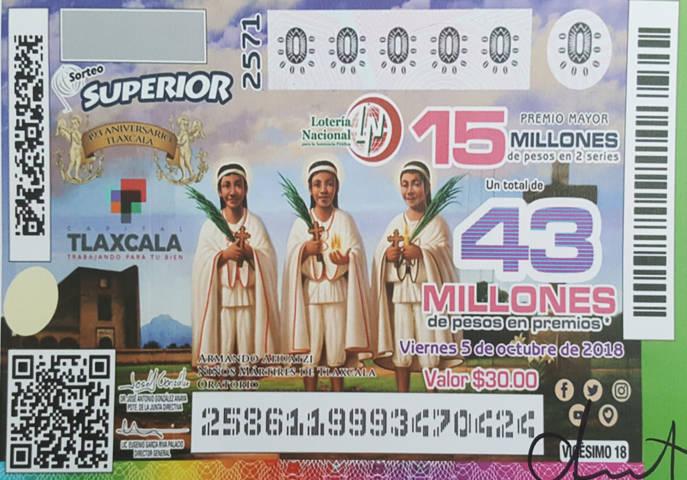 La capital será sede del Sortero Superior de la Lotería Nacional