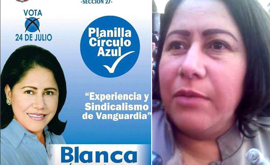 Blanca Águila se excede en el Photoshop para su imagen de campaña