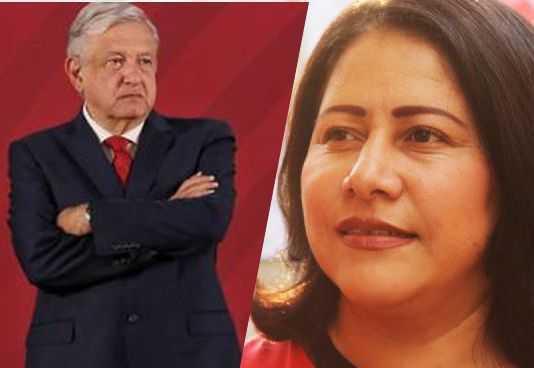 Blanca Águila se va contra AMLO y lo culpa de suspensiones