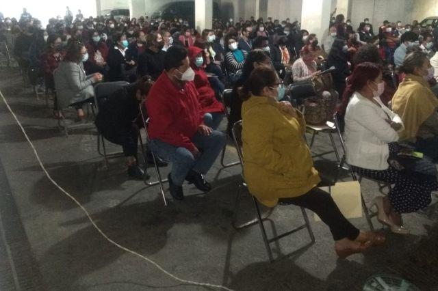 Blanca Águila cuenta con el respaldo de miles de trabajadores en el SNTSA