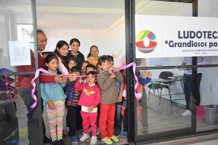 TOA abre las puertas a la Ludoteca que atenderá niños de 0 a 5 años