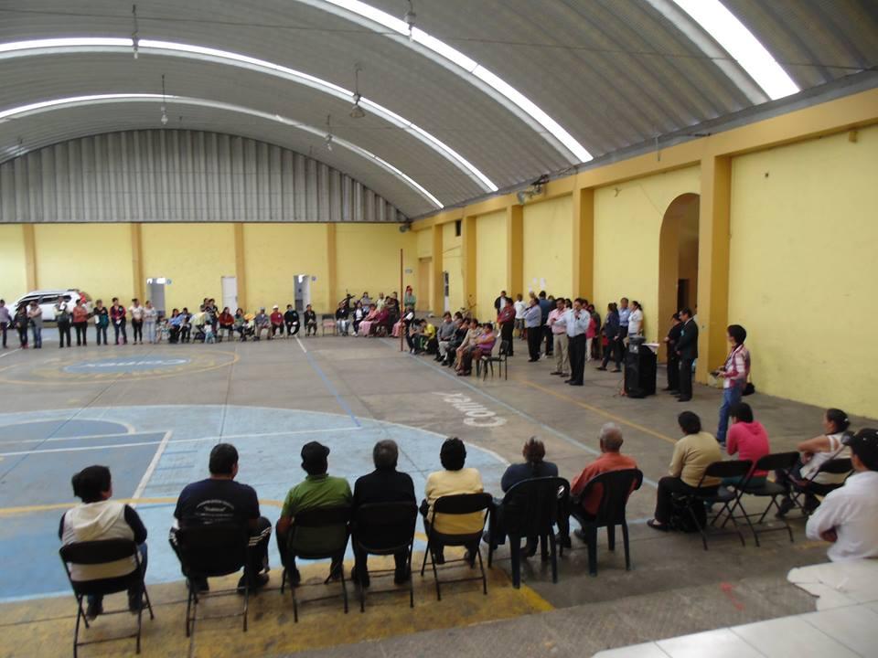 Conmemoran 93 Aniversario de Misiones Culturales en Amaxac