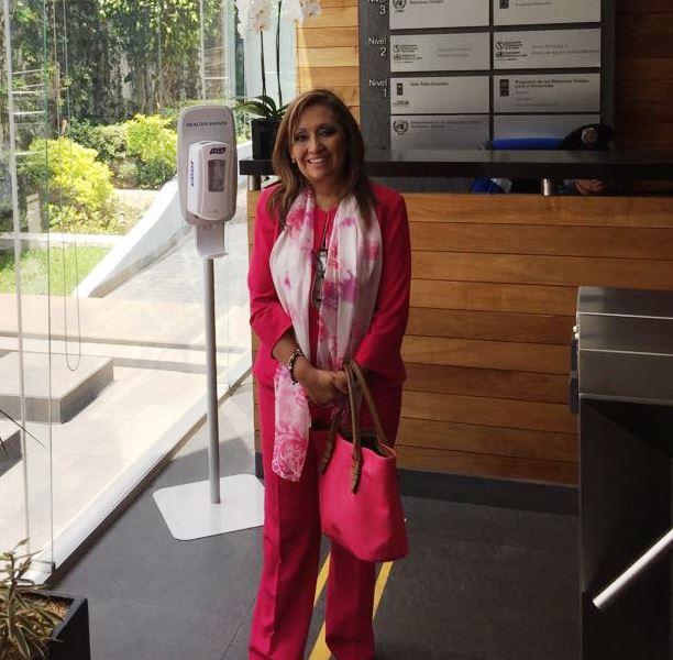 Lorena Cuéllar trabaja con la Organización Mundial de la Salud