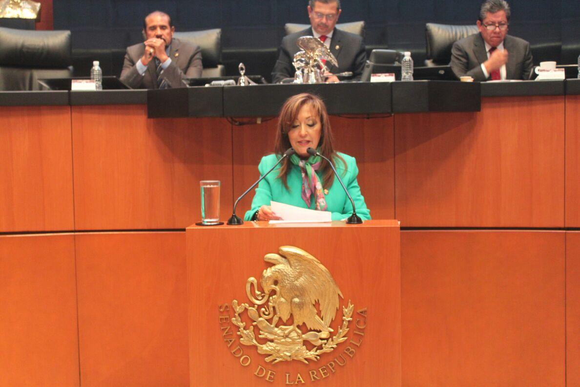Lorena Cuéllar presenta Iniciativa para proteger a periodistas