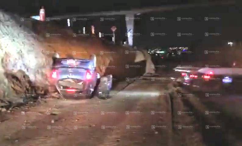 Borrachazo deja dos personas lesionadas en carretera Tlaxcala- Apizaco