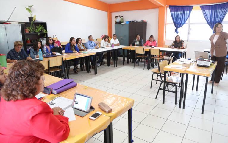 Celebra SEPE séptima sesión de consejo técnico escolar