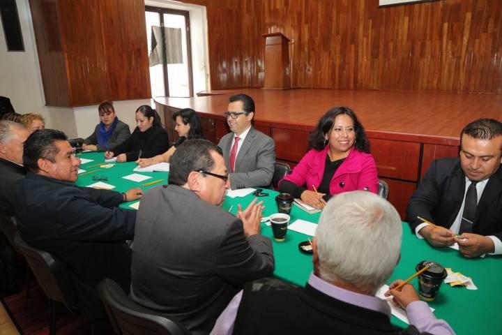 Celebra SEPE reunión con dirigencia delegacional D-I-69 Del SNTE