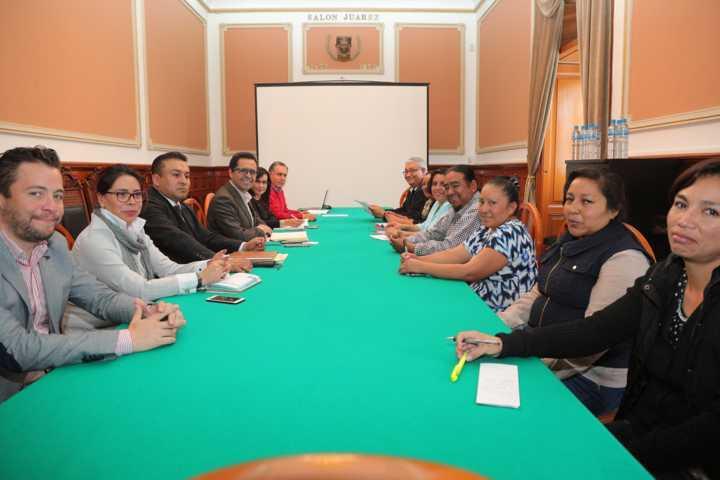 En ambiente cordial y de diálogo respetuoso, celebra sepe reunión con miembros de la CNTE
