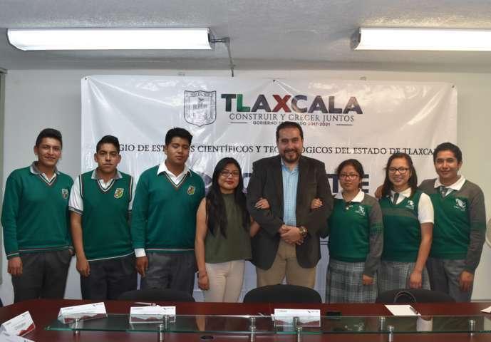Jóvenes de Tlaxcala participarán en Feria Internacional de la Ciencia en Brasil