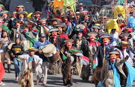 Hoy domingo El Gran Carnaval Zacatelco 2017