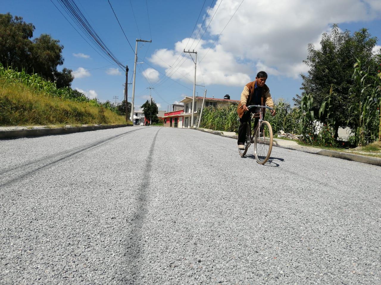 En Totolac, atendemos el rezago en infraestructura urbana/ GPB