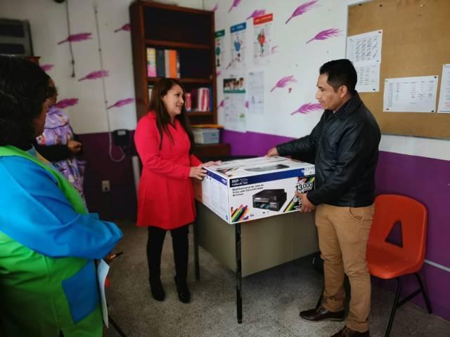 """Alcalde impulsa la educación de niños del kínder """"Ignacio Aldama"""""""
