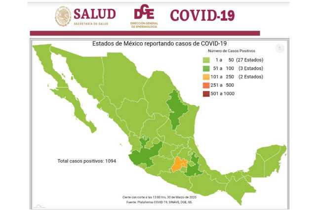 Coronavirus acecha Tlaxcala a pesar de tener sólo 4 casos