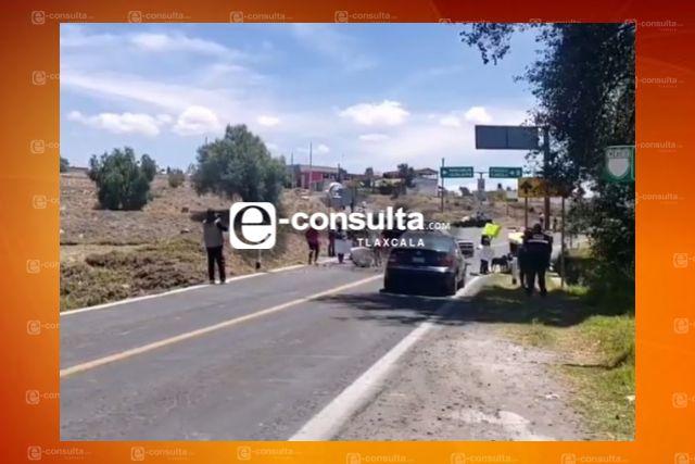 Pobladores de Ixtacuixtla cierran carretera para evitar la instalación de una gasera